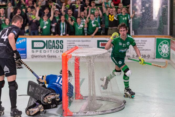 Drittes Play-Off-Spiel RSC Löwen – Darmstadt erreicht