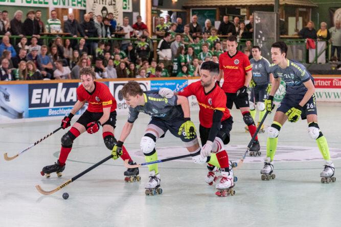 RSC Löwen scheitern im dritten Play-Off-Viertelfinalspiel an Darmstadt