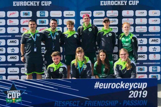 Eurockey-Cup: U17 am Ende auf Platz 14