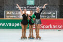 Rollkunstläuferinnen eröffneten Saisoneröffnung