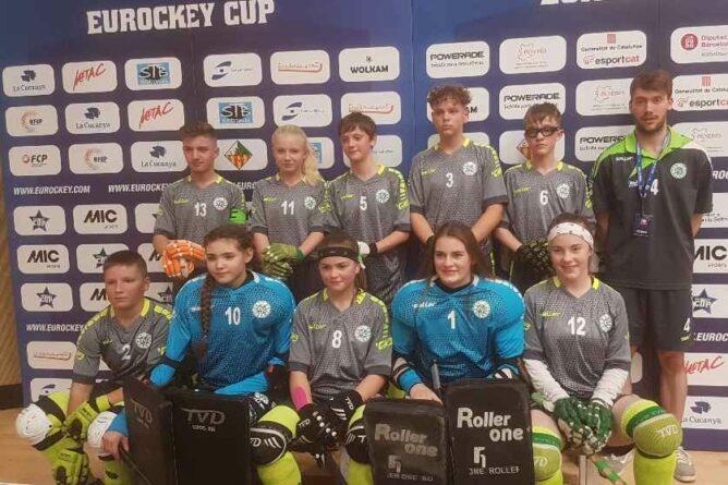 Eurockey-Cup: U15 mit Pech beim Torabschluss