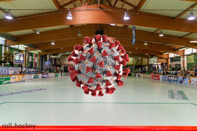Für Samstag angesetzte Spiele der Rollhockey-Bundesliga wurden abgesagt