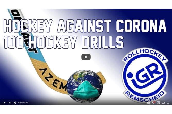 Rollhockey gegen Corona – 100 Übungen für zuhause