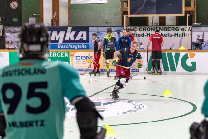 Rollhockey-Restart in der Alfred-Henckels-Halle