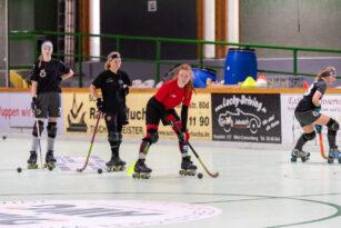 erstes Kadertraining Deutsche Rollhockey Damen-Nationalmannschaft