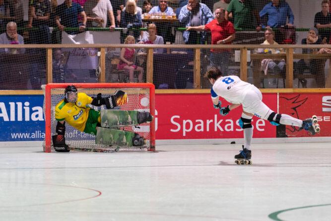 Bergisches Rollhockey Derby ging mit 3:5 an die IGR